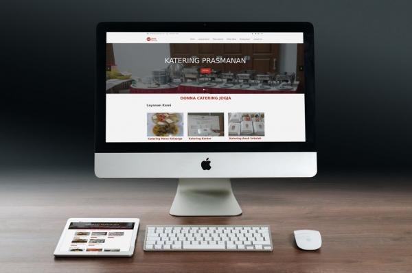 Jasa Pembuatan website katering